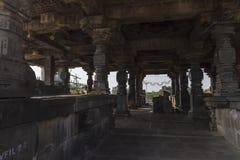 Tempio di shiva di Hemadpanti, Hottal, maharashtra Fotografie Stock