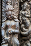 Tempio di Shiva-Parvati, quadrato di Durbar, Kathmandu, Nepal Fotografia Stock Libera da Diritti