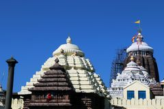 Tempio di Shree Jagannath a Puri in Odisha, India fotografia stock libera da diritti