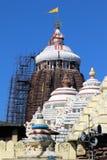 Tempio di Shree Jagannath a Puri in Odisha, India fotografie stock libere da diritti