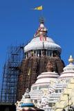 Tempio di Shree Jagannath a Puri in Odisha, India immagine stock libera da diritti