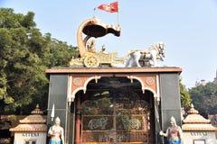 Tempio di Shri Krishna Janmabhoomi, Mathura, Uttar Pradesh fotografia stock libera da diritti