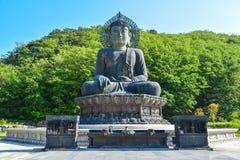 Tempio di Sinheungsa un chiaro giorno Fotografia Stock