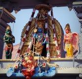 Tempio di Sri Krishna Matha - Udupi, il Karnataka, India Immagini Stock Libere da Diritti