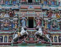 Tempio di Sri Maha Mariamman fotografia stock