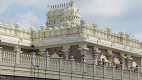 Tempio di Sri Venkateswara in Bridgewater, New Jersey Fotografia Stock Libera da Diritti