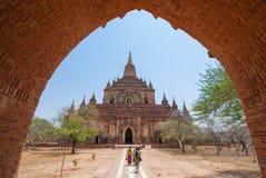 Tempio di Sulamani Fotografia Stock