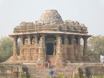 Tempio di Sun, Motera, Gujarat, fotografia stock libera da diritti