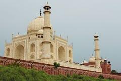 Tempio di Taj Magal - Agra Fotografie Stock Libere da Diritti