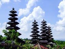Tempio di Taman Ayun a Bali, Indonesia fotografie stock libere da diritti