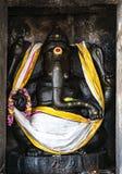 Tempio di Thanjavur della statua della roccia di Lord Ganesha grande fotografia stock