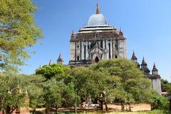 Tempio di Thatbyinnyu Bagan Regione di Mandalay myanmar fotografie stock