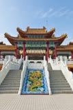 Tempio di Thean Hou, Kuala Lumpur The Thean Hou Immagini Stock Libere da Diritti