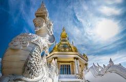 Tempio di ThungSetThi (Khonkaen) Immagini Stock