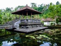 Tempio di Tirta Empul, il tempio indù in Bali, Indonesia immagine stock