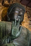 Tempio di Todaiji della mano di Buddha a Nara fotografie stock