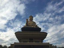 Tempio di trascuratezza di Buddha del gigante Immagine Stock
