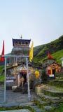 Tempio di Tungnath Uttarakhand, India Fotografia Stock Libera da Diritti