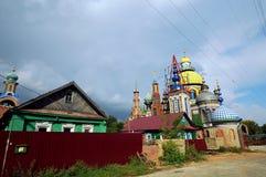 Tempio di tutte le religioni, Kazan, Russia Fotografia Stock Libera da Diritti