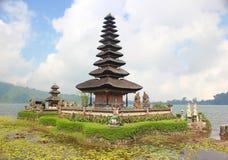 Tempio di Ulun Danu Fotografia Stock
