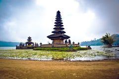 Tempio di Ulun Danu, Bali l'indonesia immagine stock libera da diritti