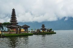 Tempio di Ulun Danu Bratan Fotografia Stock