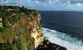 Tempio di Uluwatu in Bali, Indonesia immagine stock libera da diritti