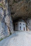 Tempio di Valadier in Genga, Italia Fotografie Stock Libere da Diritti