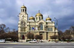 Tempio di Varna Catedralny immagine stock