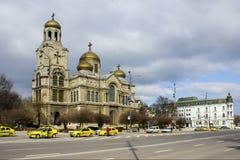 Tempio di Varna Catedralny fotografia stock libera da diritti