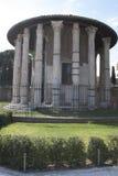 Tempio di vesta i Rome Royaltyfri Bild