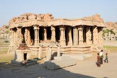 Tempio di Vittala a Hampi Immagine Stock Libera da Diritti