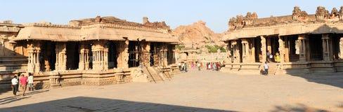 Tempio di Vittala a Hampi Fotografia Stock
