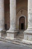 Tempio Di w Assisi Minerva i antyczne ruiny Zdjęcie Royalty Free