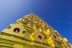 Tempio di Wang Wiwekaram Immagine Stock