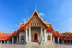 Tempio di Wat Benchamabophit Immagine Stock
