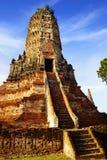 Tempio di Wat Chai Watthanaram. Ayutthaya fotografia stock