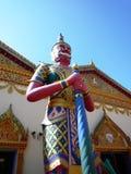 Tempio di Wat Chaiya Mangalaram Thai Buddhist Immagine Stock Libera da Diritti