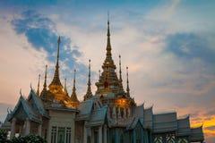 Tempio di Wat Luang Phor Toh Sikhio in nakhonratsima Tailandia Fotografie Stock Libere da Diritti