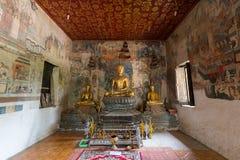 Tempio di Wat Pa Huak in Luang Prabang Immagini Stock Libere da Diritti