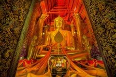 Tempio di Wat Phanan Choeng Fotografia Stock
