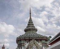 Tempio di Wat Pho a Bangkok, Tailandia immagini stock libere da diritti