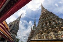 Tempio di Wat Pho a Bangkok, Tailandia Fotografia Stock Libera da Diritti