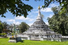 Tempio di Wat Phra That Chae Haeng Fotografie Stock Libere da Diritti