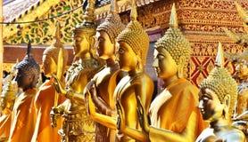 Tempio di Wat Phra That Doi Suthep in Chiang Mai Province, Tailandia Immagine Stock Libera da Diritti