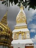 Tempio di Wat Phra That Phanom Fotografia Stock