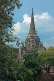 Tempio di Wat Phra Si Sanphet - Ayuthaya, Tailandia Fotografie Stock Libere da Diritti