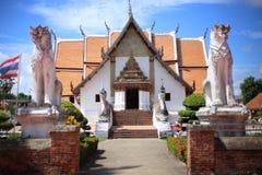 Tempio di Wat Pu Min Fotografie Stock