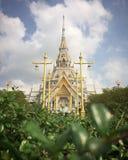 Tempio di Wat Sothon Wararam Worawihan Buddhist immagini stock