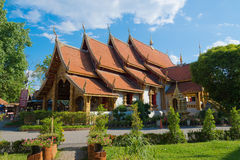Tempio di Wat Srisuphan, Chiang Mai Immagini Stock Libere da Diritti